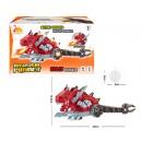Динозавр RS61-104A (18шт) 40см, муз,звук,свет,дым, ездит,подвиж.детали,в кор,23-14-13см