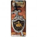Набор рыцаря 2994 (144шт) щит, меч, на листе, 21-53-2,5см