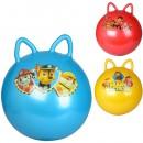 Мяч для фитнеса MS 1583 (25шт) ЩП, 40см, 350г, ушки, 3вида