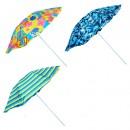 Зонт пляжный d2.2м серебро MH-1096 (12шт)