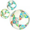 Мяч футбольный MS 2219 (12шт) размер5, PU,400-420г,ламинир