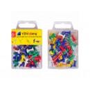 Канц прилад кнопка пластик 50шт 1004 / С 88050 (12уп)