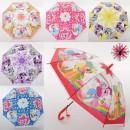 Зонтик детский MK 3630-1 (60шт)  дл66см диам84см
