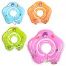 Круг R1-2 (120шт) для купания детей, 40см,на застежке,ручки 2шт,4цв,в кульке,16-14-2см
