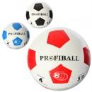 М'яч футбольний VA 0018 (30шт) резина, розмір 4, гладкий