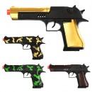 Пистолет 200-2-5 (216шт) трещотка, 4 вида, в кульке