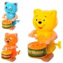 Заводная игрушка 7895-6-7-8 (180шт) 13см, 3вида(животные) в кульке