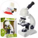Микроскоп C2129 (12шт) 26,5см, свет, инструменты, на бат-ке, в кор-ке