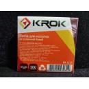 100403 KR-1111 Блок бел. 85*85*300л нкл (48шт)
