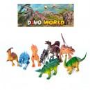 Динозавры 330-81 (72шт) 8шт, от 11см, в кульке, 19-35-6см