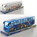 Автобус WJ950-54 (75шт) інерц-й, в слюді, 35-10,5-8,5см