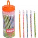 Ручка Cello 268 синя масл.(50шт)