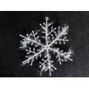 Прикраса Сніжинка 23см біла 12-153 (3шт-уп/10уп)