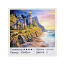 75511 Картина-живопис алмазами по номерам 50*40см