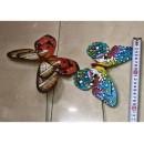 Вітрячок Метелик V2104  20 см, 6-7 квітів,(20шт)