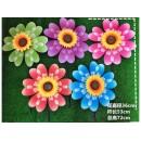 Вітрячок V2105 (200шт) Квітка 5 кольорів 36 см