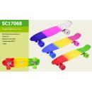Скейт SC17068 (8шт)металл.крепление,колеса PU, 56*15 см