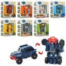 Трансформер 338 (144шт) TBT, 8см, робот+транспорт, 8 видов, в кор-ке, 12-15-6см