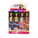 Кукла 1648-1 (240шт) 26см, в кор-ке, 24шт(4вида) в дисплее, 29,5-25,5-19см