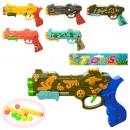 Пистолет 159-14-15 (180шт) 22см,мягк.пули-присоски2шт, шарики 6шт
