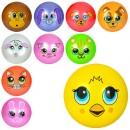 Мяч детский MS 0249-1 (120шт) 9 дюймов,ПВХ, 65г,10видов