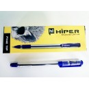 Ручка масл.Hiper Fine Tip HO-111 0,7мм синя (10/250/2000)
