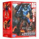 Трансформер MF-06 (48шт) робот+машинка, 12см 13-16-7см
