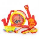 Погремушка 03626-15/03626-8 (96шт) муз.инструменты, 7шт в кульке