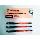 Ручка масл.Hiper Inspire HO-115 0,7мм червона (1000/10)