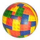 Мяч детский MS 2620 (120шт) 9 дюймов, полноцветный, 75г