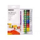 Фарба Acrylie-1206 тюбик Art Range 6мл/12кольорів