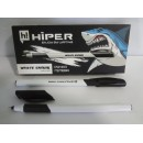 Ручка гель HG-811 Hiper White Shark 0,6 мм чорна (10шт)