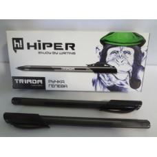 Ручка гелева Hiper TRIADA HG-205 (10шт) Чорна
