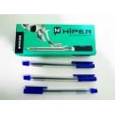 Ручка масл.Hiper Genius HO-120 0,7мм (10шт/1000) синя