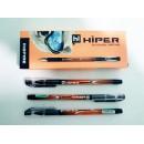 Ручка масл.Hiper Inspire HO-115 0,7мм зелена (1000/10)