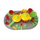 04-409 Плита с мойкой и посудой, в кор (4шт)