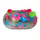 04-410 Плита с мойкой и посудой, в кор (4шт)